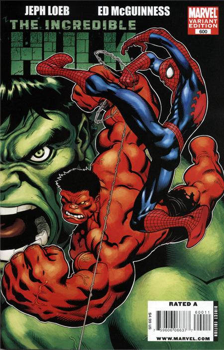 Red Hulk Green Hulk Grey Hulk Green Hulk Red Hulk Spidey