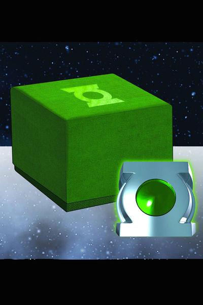 green lantern ring prop. GREEN LANTERN HONOR GUARD RING
