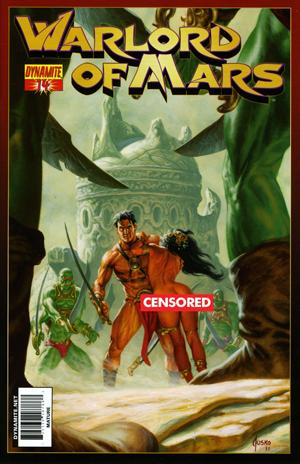 Breygents Warlord Of Mars Complete Dejah Thoris Chase Card Set WMDP1-9