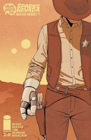Dynamic Forces The Thrilling Adventure Hour Presents Sparks Nevada Marshal On Mars 1 Jamie Mckelvie Variant