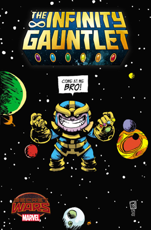 Dynamic Forces 174 Infinity Gauntlet 1 Skottie Young