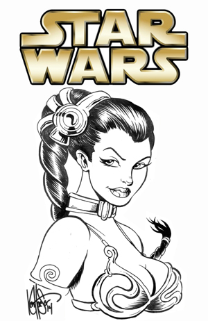 Excelente Princesa Leia Para Colorear Imprimible Ideas - Páginas ...