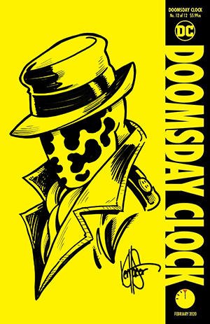 Dynamic Forces Doomsday Clock 12 Signed And Remarked By Ken Haeser