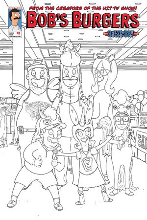 Dynamic Forces 174 Bob S Burgers 1 Baltimore Comic Con