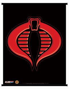 DYNAMIC FORCES® - G.I. JOE: COBRA INSIGNIA WALL SCROLL
