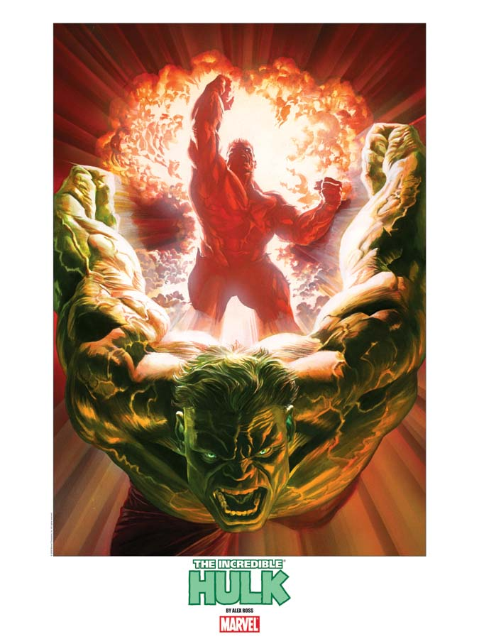 Dynamic Forces 174 Incredible Hulk 600 Lithograph Signed