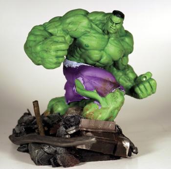 HulkHugeDiorama - The Tall Green Friend - Love Talk