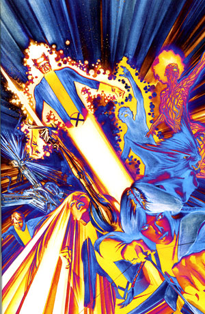 Dynamic Forces 174 New Mutants 1 Df Exclusive Alex Ross