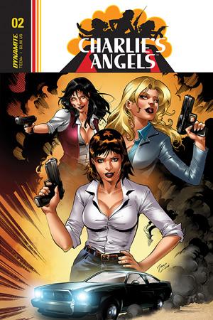 CHARLIES ANGELS VS BIONIC WOMAN #4 CVR B MAHFOOD DYNAMITE   10//2