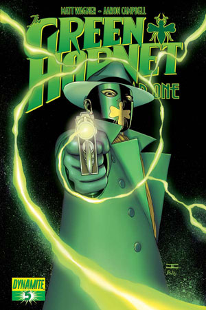 Delve deeper into the origin of the original Green hornet as Britt Reed