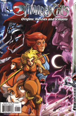 Thundercats Wildstorm on Dynamic Forces     Thundercats  Origins Heroes And Villains  1  Signed