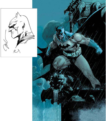 Dynamic Forces Absolute Batman Hush Oversized Hardcover Re