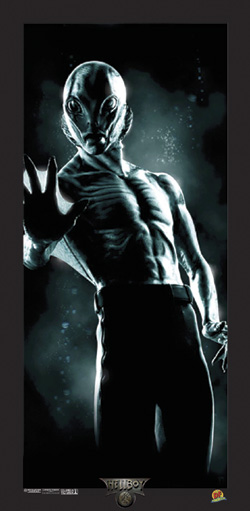 Dynamic Forces 174 Hellboy Movie Lithograph Abe Sapien