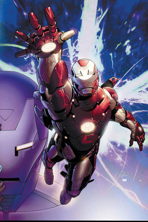 Sticker jack holo - Dynamic Forces 174 Iron Man