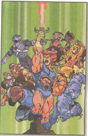 Thundercats Reclaiming Thundera on Dynamic Forces     Thundercats  Reclaiming Thundera Tpb