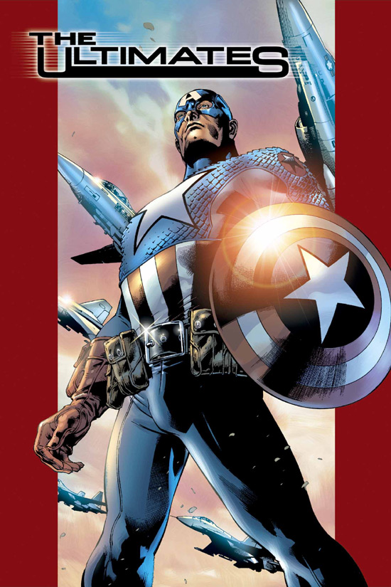 [critique / review] Marvel Universe : CAPTAIN AMERICA (version ULTIMATE) Ultimates2hs