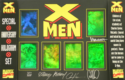 Dynamic Forces 174 X Men 30th Anniversary Hologram Framed
