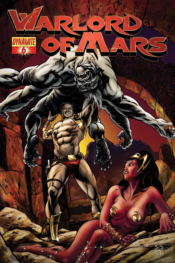 Warlords Of Mars Comic
