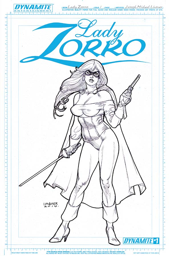 Dynamic Forces 174 Lady Zorro 1 Of 4